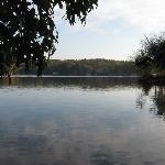 lake from gazebo