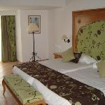 quarto muito espaçoso e confortável - bungalow