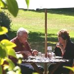 Dine al fresco in beautiful gardens