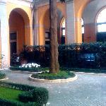 Cesi courtyard