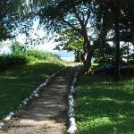 path to beach, very close by