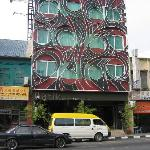 Frontview of the Batik Hotel