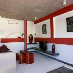 Comptoir Penthouse, the salon and TV Area