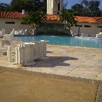 ホテルの中にあるプールです。