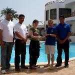 "Hostelworld ""Best Hostel Africa 2009"" Awarded By The Pool"