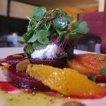 roasted beet salad.