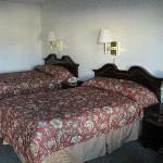 Zimmer des Motels Oktober 2010