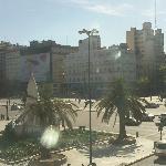 Vista del Hotel a la 9 de Julio