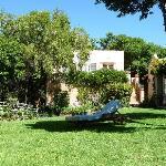 garden with upper room & terrace