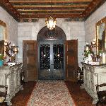 entry doors to mansion