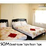 Som guesthouse triple room