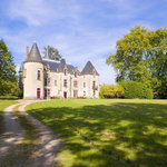The Chateau dates back to 1590....