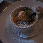 flan for dessert