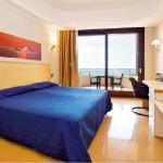 Room with private blacony with sea view