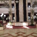 The Lobby at the hotel, big airy and clean