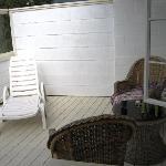 Porch from room door