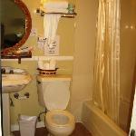 restroom roomier than looks