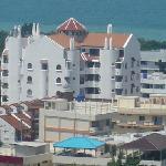 View looking towards the Casa Espana