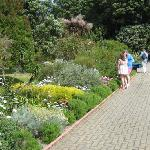 one of brick walk ways throughout the gardens