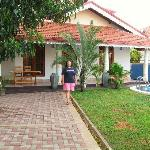 my home in Negombo...nah! Serendib Guesthouse...but, we were more then at home! Gracious,graciou