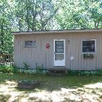 Unser Cottage mit Terrasse