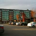 View from the parking area
