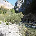 Walking near La Choca, Lecina