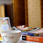 lending library and a cup of tea