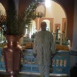 hall d'entrée du Ryad