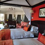 Luxury Tent at Elephant Camp, Victoria Falls