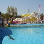Le coté piscine