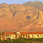Hotel is located at the foot of the Santa Rita Mountains