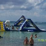 Some of the water attractions