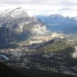 View of all of Banff