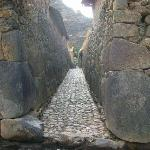 Street in Ollantaytambo