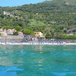 Vista del villaggio da mare!