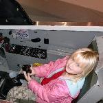 A T-38 cockpit