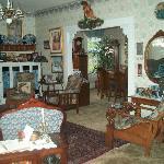 Period furniture, great ambiance