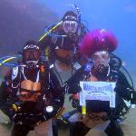 Me & 2 dive buddies