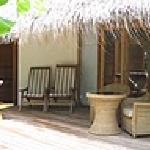 Terrasse beach bungalow