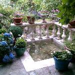 Pièce d'eau au jardin