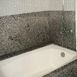 Yeah..the bathroom has a bathtube...