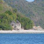 Island from boat