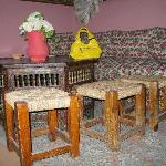 Interior of the Pension Dalila