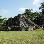 Main site-smaller pyramid