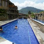 Thermal pool area