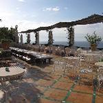 the pool area Le Sirenuse Positano
