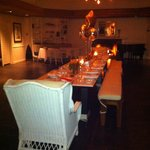 MYC's Gulf Coast Kitchen fireside room