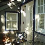 Abbeywood Cottage front door