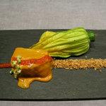 codfish with romesco sauce